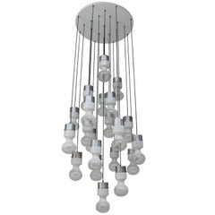 Exceptional Large Chandelier by RAAK Amsterdam 1960s