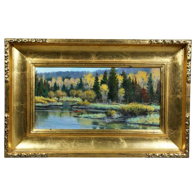 Oil on Panel Landscape by Jerry Antolik