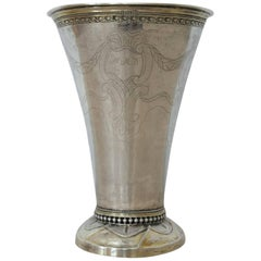 Erik Ernander 'Worked 1755-1809', Silver Beaker, Origin Sweden, Dated 1788