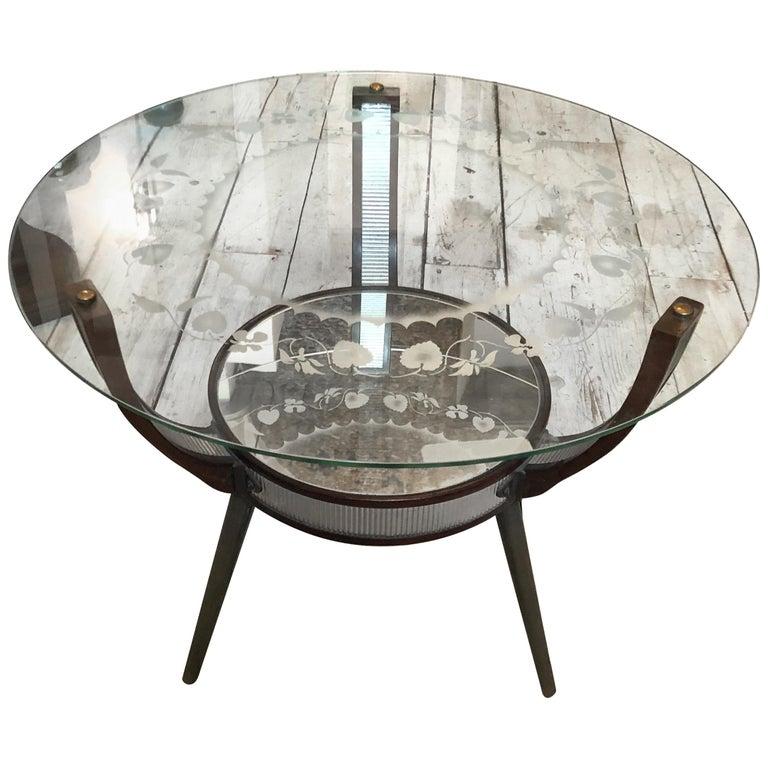 Mid-Century Modern Italian Side Table, circa 1955