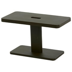 Azur Outdoor Side Table in Midnight Blue by Frederic Gaunet & Tolix