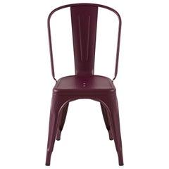 Chair in Aubergine by Xavier Pauchard & Tolix