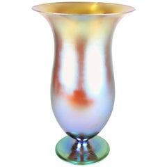 Art Deco Iridescent Vase by WMF, Germany, circa 1925