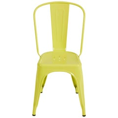 A-Chair in Pastel Yellow by Xavier Pauchard & Tolix
