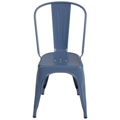 Chair in Provence Blue by Xavier Pauchard & Tolix