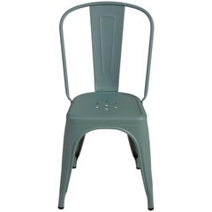 Chair in Sage Green by Xavier Pauchard & Tolix