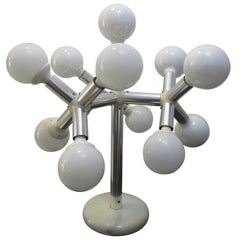 Retro Sputnik Lamp, Table Lamp, Midcentury