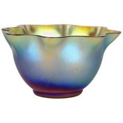 Art Deco Iridescent Bowl by WMF, Germany, circa 1925