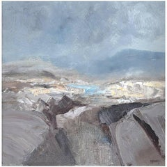 'Boglands, Donegal' Painting by Malcolm Bennett