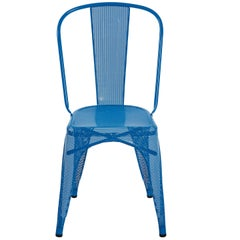 A-Chair Perforated in Sky Blue by Xavier Pauchard & Tolix