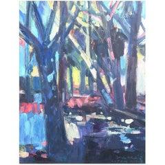 'Cyprus Avenue' Painting by Brian Ballard RUA