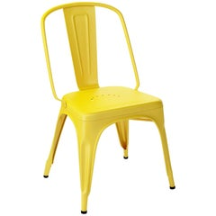 AC Chair in Matte Yellow by Xavier Pauchard & Tolix