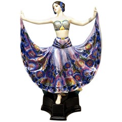 Goldscheider Vienna Lady Dancer Ruth by Rosé Model 4141, Made circa 1925