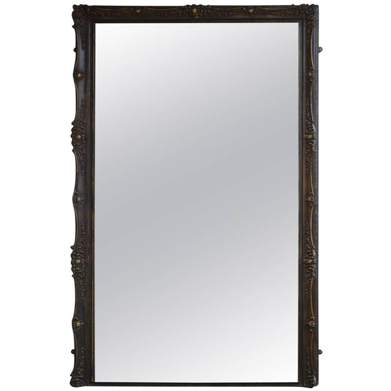 Large Late 19th Century Full Length Mirror