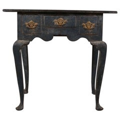 Painted Lowboy or Lamp Table