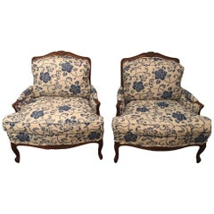 Pair of Taylor King Bergere Chairs