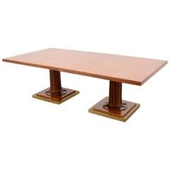 Monumental and Rare T.H. Robsjohn-Gibbings Dining Table