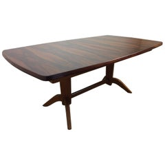 Midcentury Rosewood Extendable Table