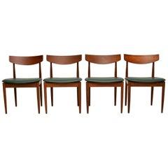 1960s Set of Four Vintage Teak Dining Chairs by Kofod Larsen G-Plan