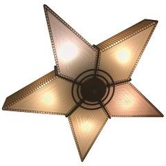 Mid-Century Modernist Star Chandelier