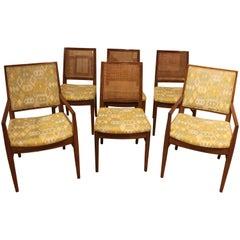 Set of Six Mid-Century Modern Dining Chairs by John Stuart