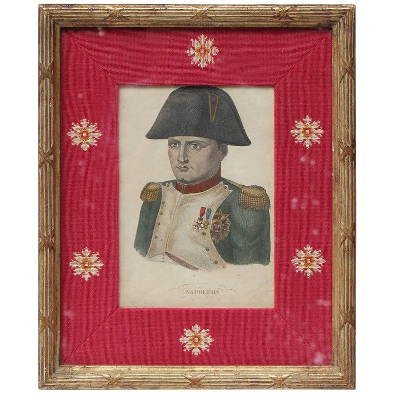 Lithograph of Napoleon