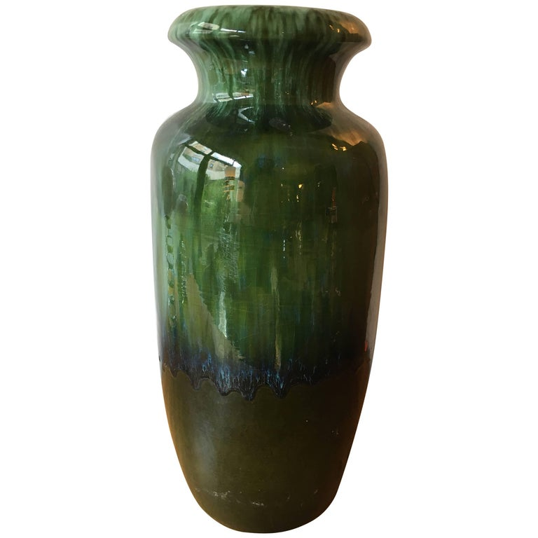 Large Art Pottery Vase From The Detroit Institute Of Art For Sale At