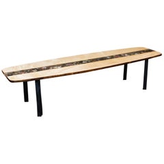 Custom Made Surfboard Coffee Table