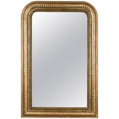 Louis Philippe Style Gilded Mirror