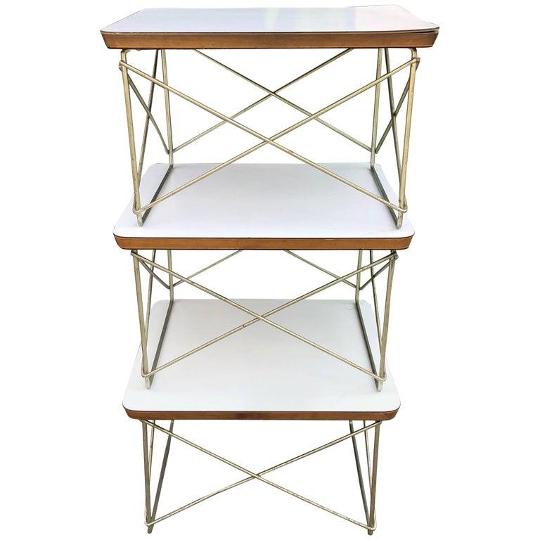 Herman Miller Eames LTR Side Tables