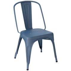 AC Chair in Textured Matte Ocean Blue by Xavier Pauchard & Tolix