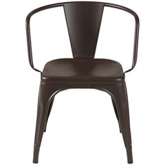 AC16 Armchair in Dark Chocolate by Chantal Andriot & Tolix