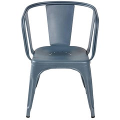 D Armchair in Provence Blue by Xavier Pauchard & Tolix