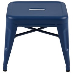 H Stool 30 in Tendance Blueberry by Chantal Andriot and Tolix