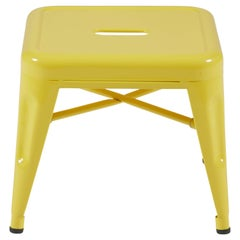 H Stool 30 in Glossy Yellow by Chantal Andriot and Tolix