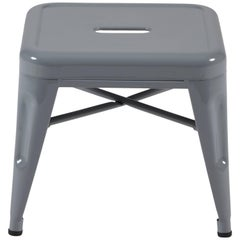 H Stool 30 in Tendance Grey by Chantal Andriot and Tolix