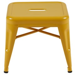 H Stool 30 in Mustard Yellow by Chantal Andriot & Tolix