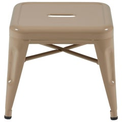 H Stool 30 in Essentiel Muscade by Chantal Andriot and Tolix