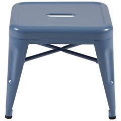 H Stool 30 in Tendance Provence Blue by Chantal Andriot and Tolix