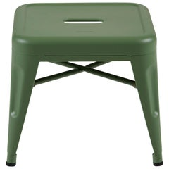 H Stool 30 in Tendance Rosemary Green by Chantal Andriot and Tolix