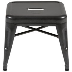 H Stool 30 in Tendance Speckled Grey by Chantal Andriot and Tolix
