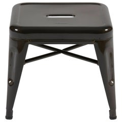 H Stool 30 in Steel with High Gloss Lacquer by Chantal Andriot & Tolix