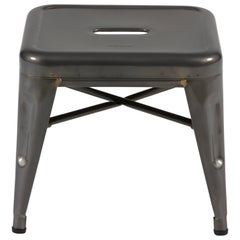 H Stool 30 in Essentiel Vernis by Chantal Andriot and Tolix