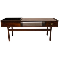 Low Sideboard in Rosewood with Drawer, of Danish Design, 1960s