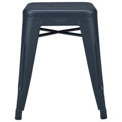 H Stool 45 in Midnight Blue by Chantal Andriot & Tolix