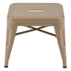H Stool 45 in Nutmeg by Chantal Andriot & Tolix