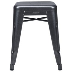 H Stool 45 in Speckled Grey by Chantal Andriot & Tolix