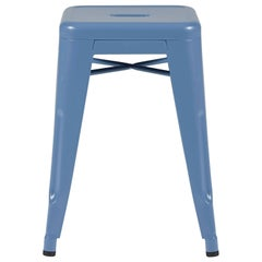 H Stool 50 in Provence Blue by Chantal Andriot & Tolix