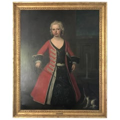 Portrait of Prince William III the Son of King Gorger II