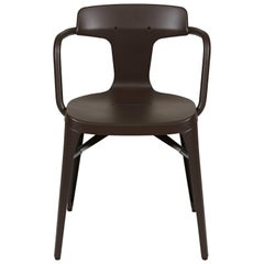 T14 Chair in Dark Chocolate by Patrick Norguet and Tolix